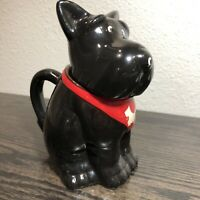 Victorian Trading Co Hound Dog with Basket Candy Dish 33D