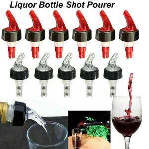 25/30ML Liquor Shot Pourer Bottle Dispenser Spirit Nip Measure Wine Barware Tool