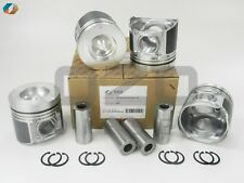 S130B-E0M50-oz PISTON STD WITH PIN & CLIP Fits Toyota N04C 104mm (Set of 4)