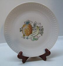 Pineapple Banana Fruit and Leaves Plate Vintage Bavaria Hutschenreuther