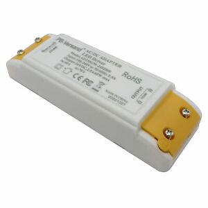 LED Trafo 60 Watt 24 Volt DC klein Transformator Driver Netzteil 24V Streifen