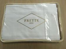 $1200 Frette 1860 Grace Sateen 600Tc King Duvet Cover Ivory / Milk 104�x91� Nwt
