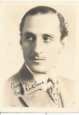 Basil Rathbone -Autographed-Signed-Signature- 5x7 Vintage Photo .