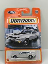 1970 Ford Capri #18 * Silver * 2021 Matchbox Case T * WK13