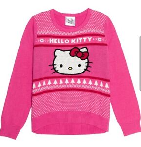 Women Ugly Christmas Sweater by Hello Kitty