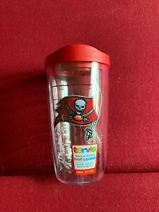 """Tampa Bay Buccaneers, """"TERVIS"""" (16oz) """"Brand New""""  (Hot / Cold) Tumbler w/ Lid"""