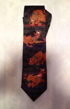 244258d7a618 Hanna Barbera Cartoon Network Vintage Scooby Doo Tie EUC **Free Shipping**
