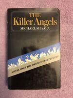 Michael Shaara THE KILLER ANGELS - 1st ed (1974) CIVIL WAR PULITZER WINNER in DJ