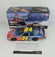 2007 JEFF GORDON #24 DUPONT / CHARLOTTE WIN / Raced Version Nascar Diecast 1:24