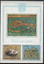 BLOC TIMBRE VATICAN NEUF N° 3 SAUVEZ VENISE UNESCO LEGENDE VENEZIA 1972