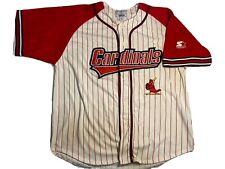 Vintage Starter Jersey St. Louis Cardinals Medium Pinstripes MLB 90s