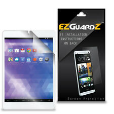 """2X EZguardz LCD Screen Protector Cover HD 2X For NuVision 7.85"""" HD Tablet TM785"""