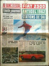 L'AUTO-JOURNAL n°285 du 11/1961 Essai Fiat 2300/ Bilan des salons/ Sport Automob