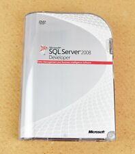 More details for microsoft sql server 2008 developer (e32-00673) box edition + product key