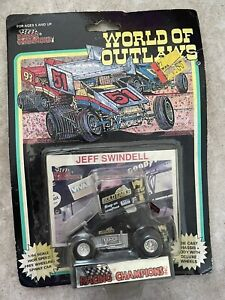 Jeff Swindell 1993 World of Outlaws DieCast Car Gold Eagle