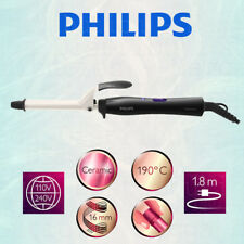 Philips 190°C Heat 16mm Hair Protection Ceramic Curling Tong/Iron/Wand