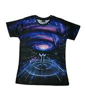 Connect with the Cosmos T-Shirt (all over printed universe stars t shirt)
