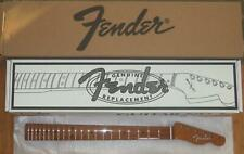 "Fender Vintera 60`s Mod Roasted Maple Tele Neck~9.5"" Radius~60`s ""C""~Brand New"