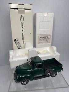 Danbury Mint 1953 Chevrolet Green Pickup 3100 1/2 Ton 1:24 Scale Brand New + Box