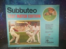 More details for vintage subbuteo cricket test match edition with instructions and extras