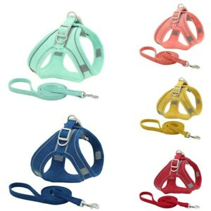 Pet Chest Harness Reflective And Breathable Dog Leash Small Dog Vest Chest strap