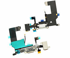 iPhone 5 5G A1428 A1429 SYNC Charging Data Port Block Audio Mic Flex Cable White