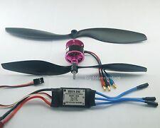 042BKS: RC Flight Power System(BL 2810):KV1450 Brushless motor/30A ESC/ 2 Props