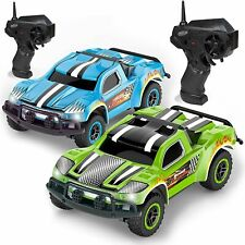 Remote Control Car - 2 Mini Racing Coupe Cars - With Rechargeable Batteries
