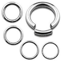Surgical Steel Seamless Segment Ring Continuous Piercing