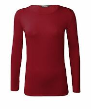 Viscose Crew Neck Casual Tops & Shirts for Women