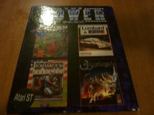 THe Power Pack for Atari ST br Beau-Jolly (4 Games)+Ships Free