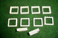 Lego Fenster, Zugfenster, Eisenbahn, 6556, 1x4x3, weiss, 10 Stück, Neu**