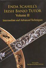 Banjo Book Enda Scahill Irish Banjo Tutor Volume II With 2 CDs New