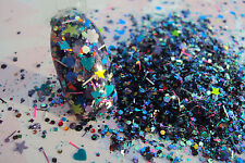 glitter mix acrylic gel nail art  GIRLS GONE WILD limited edition 12 made