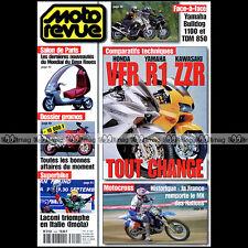 MOTO REVUE N°3490 KAWASAKI ZZR 1200 HONDA CRF 450 R VFR 800 YAMAHA R1 TDM 850