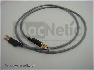 5 x  4 Foot grey ADC Bantam Patch Cord ADC PJ768