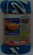 Disney Cars Lightning McQueen Fleece Throw Blanket
