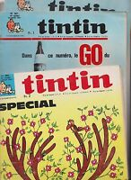 TINTIN. Lot des n°960 à 977 correspondant à la reliure 72. TB
