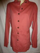 CASUAL COMFORT Coral cotton Pirate Military Jacket SZ 18
