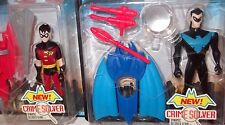 Crime Fighter Robin Nightwing Figure '98 New Batman Adventures MOC Japan casefre