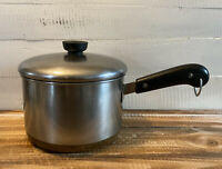 Vintage Revere Ware 2.5 Quart Sauce Pan/ Pot With Lid - Copper Bottom