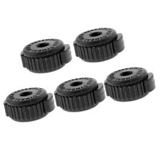 5 Pieces Quick Release Cymbal Plastic Nuts Set for Percussion Instrument Parts
