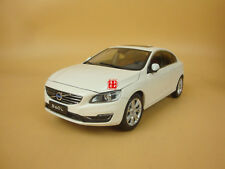 1:18 Volvo S60L white color model + gift