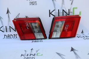 SAAB 95 9-5 2001-2006  PAIR OF TAILGATE BOOTLID LIGHTS LEFT AND RIGHT