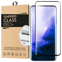 Tempered Glass Full Cover Screen Protector For OnePlus 7 Pro