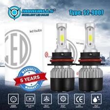 9007 HB5 LED Headlight Bulb High Low Beam Conversion Kit for Dodge Grand Caravan