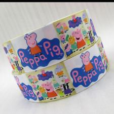 Peppa Pig Ribbon 38mm wide 1m long