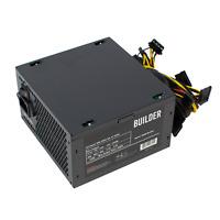 600W PC BUILDER COMPUTER PSU ATX POWER SUPPLY UNIT with 12cm Silent Black Fan