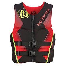 Full Throttle® Men's Hinged Rapid-Dry Flex-Back Vest - Red, Large