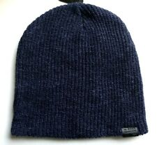 Genuine G-STAR Raw Navy Heather Skull BEANIE Hat Toque *SUPER COMFY* UNISEX E6